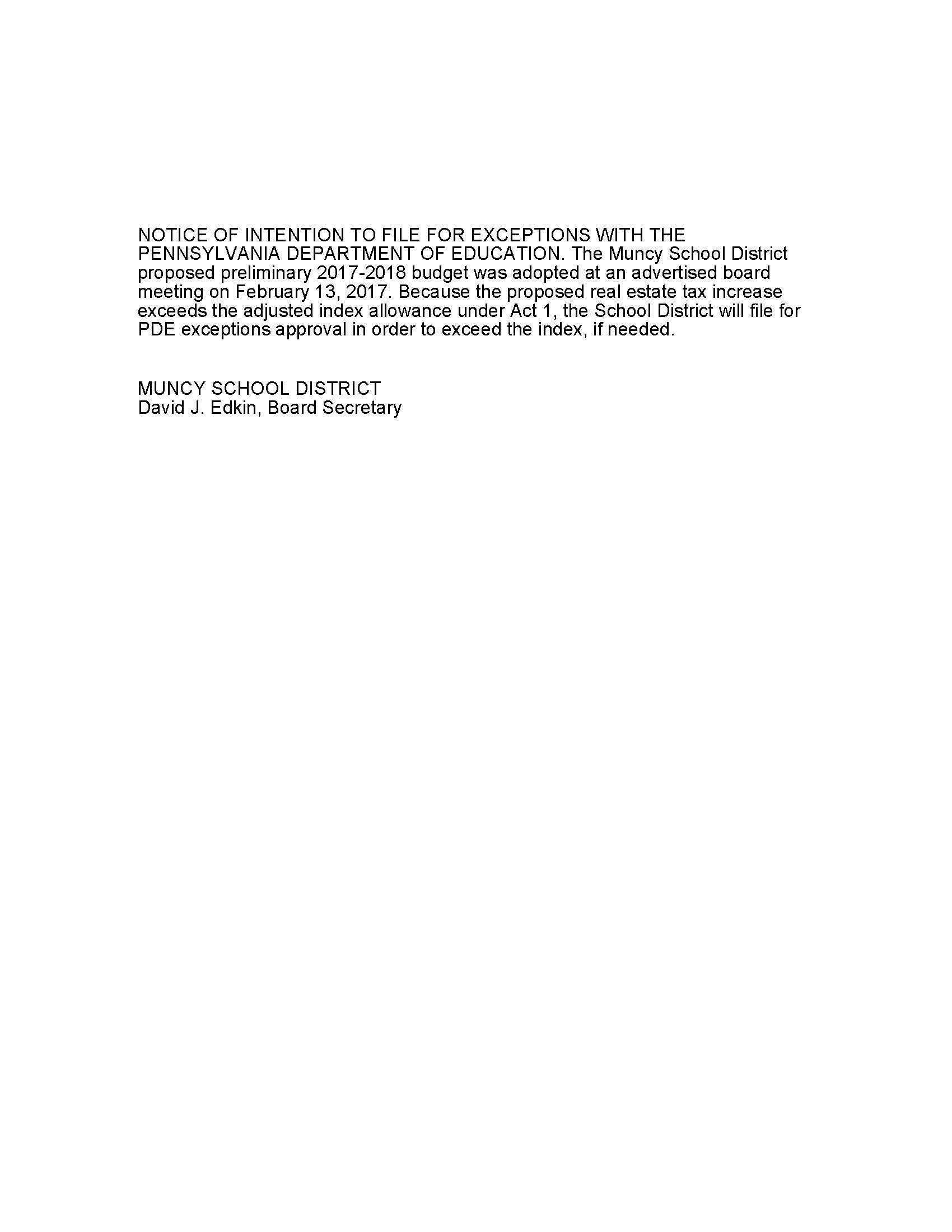 Muncy School District / Overview
