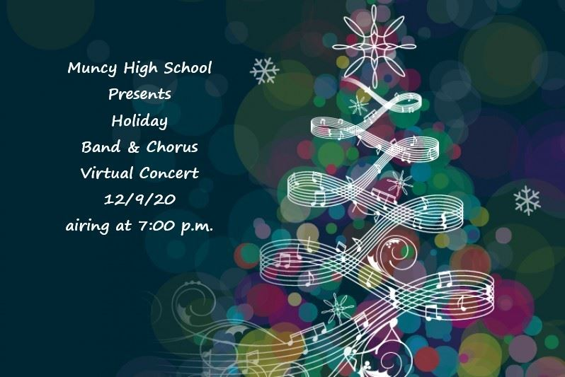 Holiday Band & Chorus Virtual Concert